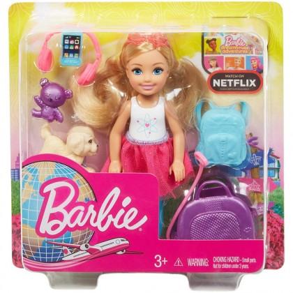 Barbie Travel Chelsea Doll Toys for Kids Girls Boys