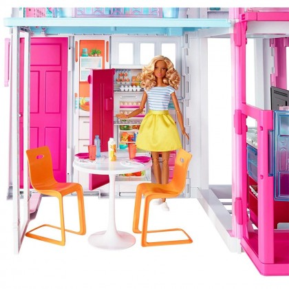 Barbie 3-Story Townhouse Estate Toys for Kids Girls Boys