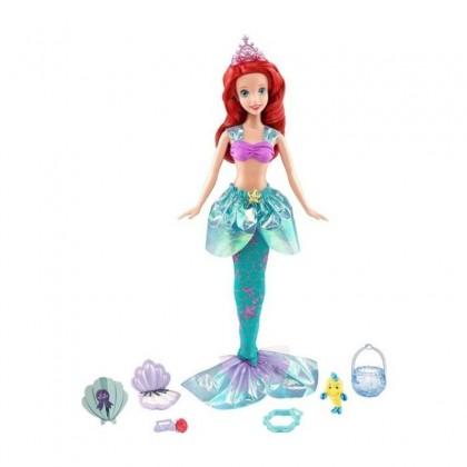 Disney Princess Royal Celebrations Ariel Doll (CJK89) Toys for Kids Girls Boys