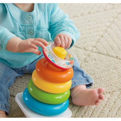 Fisher Price Rock a Stack Toys for Baby Kids Boys Girls
