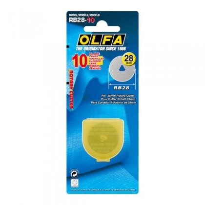 OLFA Cutter Blade Rotary 28mm (RB28-10)