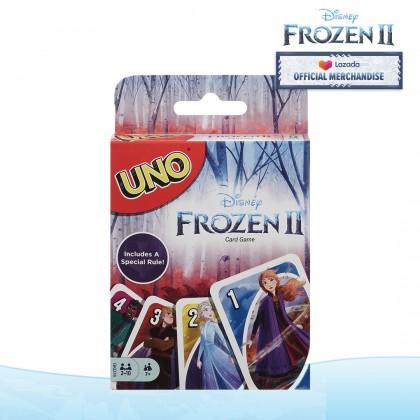 UNO Disney Frozen II Card Game for Family Friend Kids
