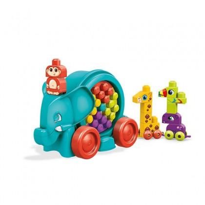 Mega Bloks Elephant Parade Building Kit (25 Pcs) FFG21