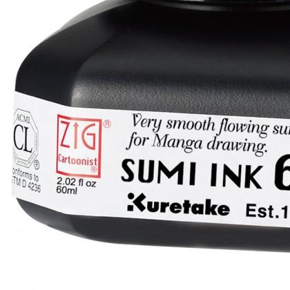 ZIG Cartoonist Sumi Ink 60 CNCE103-6