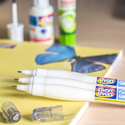 CIVORS Correction Pen 5ML Multi-purpose & Quick Dry - CV073